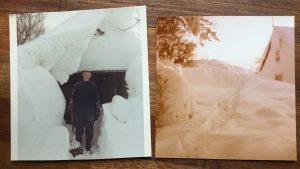 Vores hus for 40 år siden under vinterkrigen