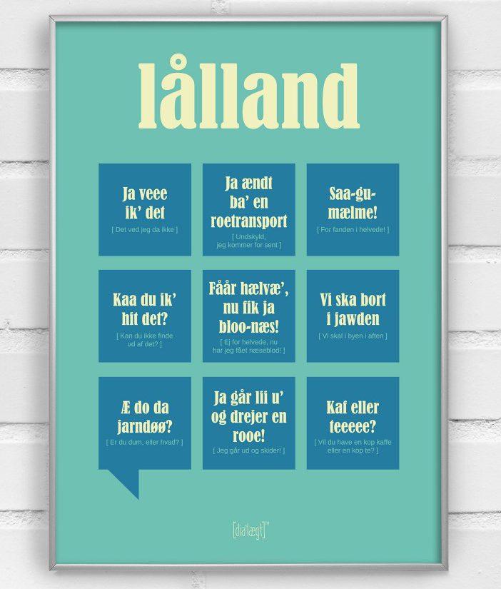 Den lollandske dialekt