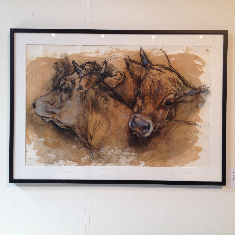 Værk af min absolutte favorit kunstner fra Lolland Anne Gyrithe Schytt, billedkunstner, tegner